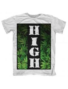 Camiseta manga corta High Cannabis