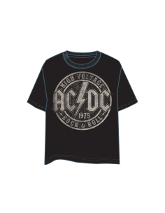 CAMISETA MANGA CORTA ACDC HIGH VOLTAGE. GLOBAL BRANDS - 1