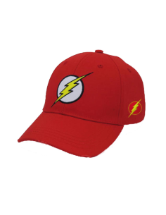 GORRA BASEBALL CON VISERA CURVADA FLASH. MARVEL - 1