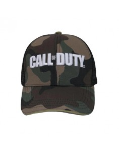 GORRA LOGO CALL OF DUTY