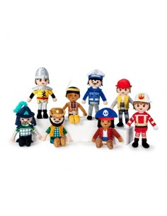 40% Dto. - PACK PELUCHES PLAYMOBIL GLOBAL BRANDS - 1