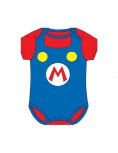 BODY BEBÉ SUPER MARIO BROS LOGO Super Mario - 1