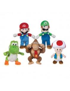 PACK DE PELUCHES GRANDES SUPER MARIO AND FRIENDS Super Mario - 1