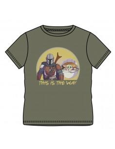 STAR WARS BABY YODA CAMISETA ADULTO STAR WARS - 1
