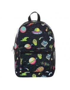 MOCHILA RICK AND MORTY SPACE RICK AND MORTY - 1