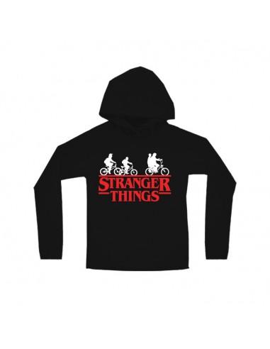 SUDADERA STRANGER THINGS LOGO GLOBAL BRANDS - 1