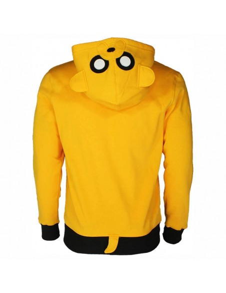 ADVENTURE TIME JAKE SUDADERA ADULTO  - 2