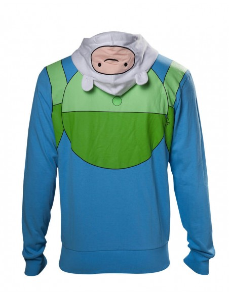 ADVENTURE TIME FINN OUTFIT SUDADERA ADULTO  - 1