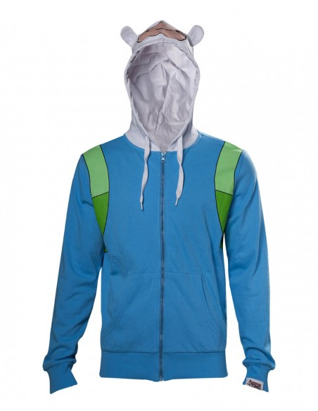 ADVENTURE TIME FINN OUTFIT SUDADERA ADULTO  - 2