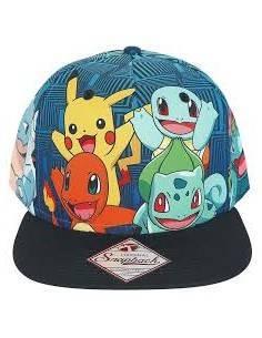Gorra personajes Pokemon