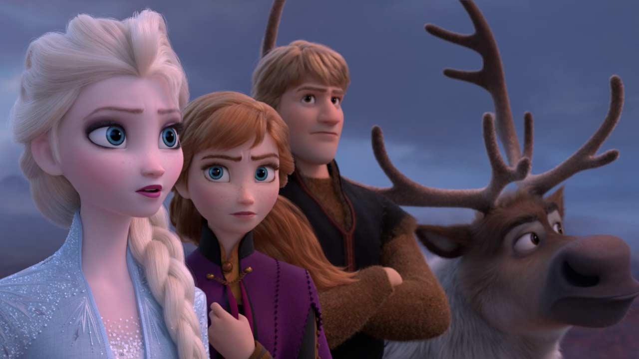Ana, Elsa y Kristoff listos para la aventura